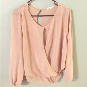 Tops - Glam Dolls Sheer Blouse Small